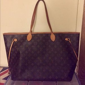 Louis Vuitton Neverfull GM Largest size